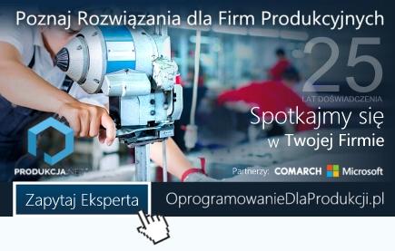 Oprogramownie dla firm produkcyjnych